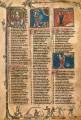 middeleeuwse pagina